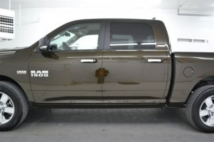 Side View Exterior of Crew Cab Doors