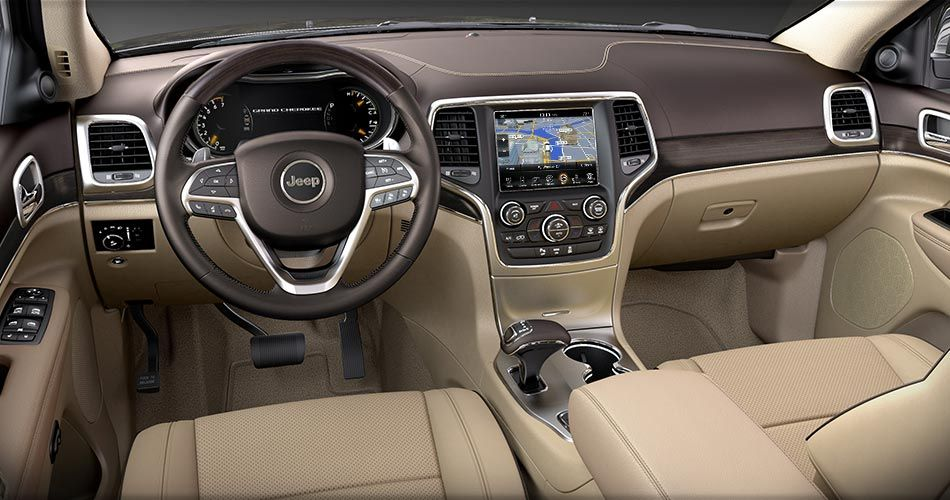 interior jeep grand cherokee