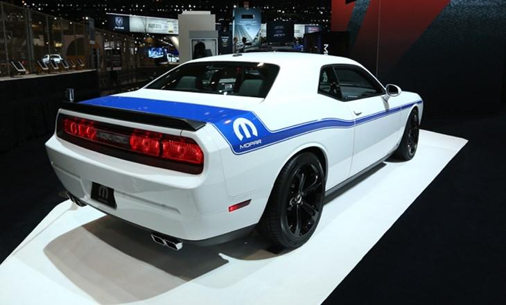 2014 Mopar Challenger Rear