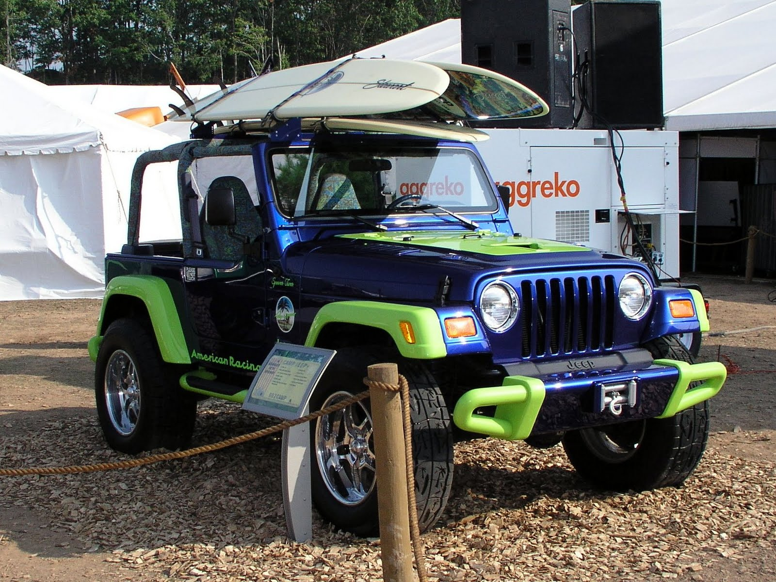 Jeep Surf Boards